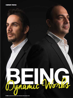 Being Dynamic Works - Gold Magazine - Interview by Chloe Panayides - Gold Magazine - August 2014