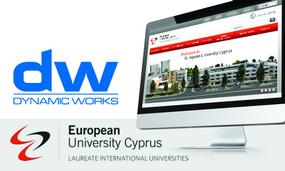 Launch of an outstanding University Online Project with a New Website for European University Cyprus