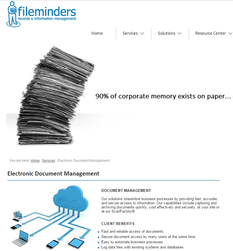 FILEMINDERS MANAGEMENT